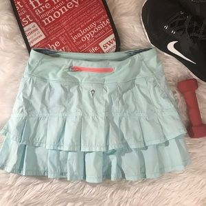 Ivivva Sz 14 Mint Green Tennis Skirt